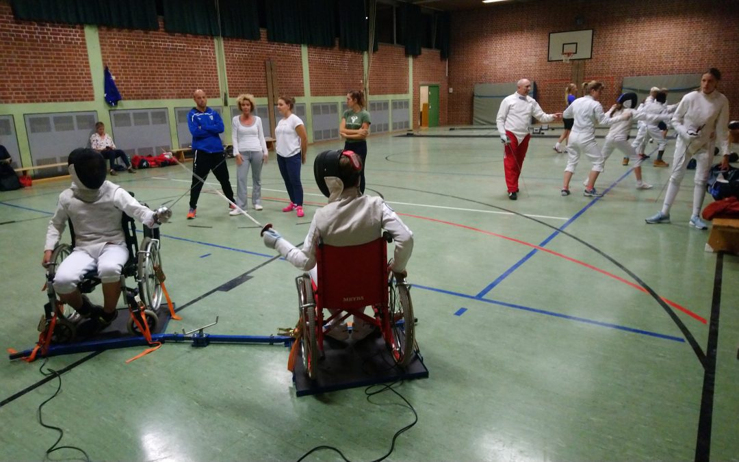 Rollstuhlfechten TSV Trudering