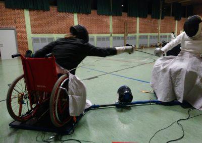 Inklusiv Fechten München Rollstuhlfechten