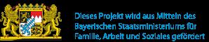 Dieses Projekt wird aus Mitteln des Bayerischen Staatsministeriums für Familie, Arbeit und Soziales gefördert