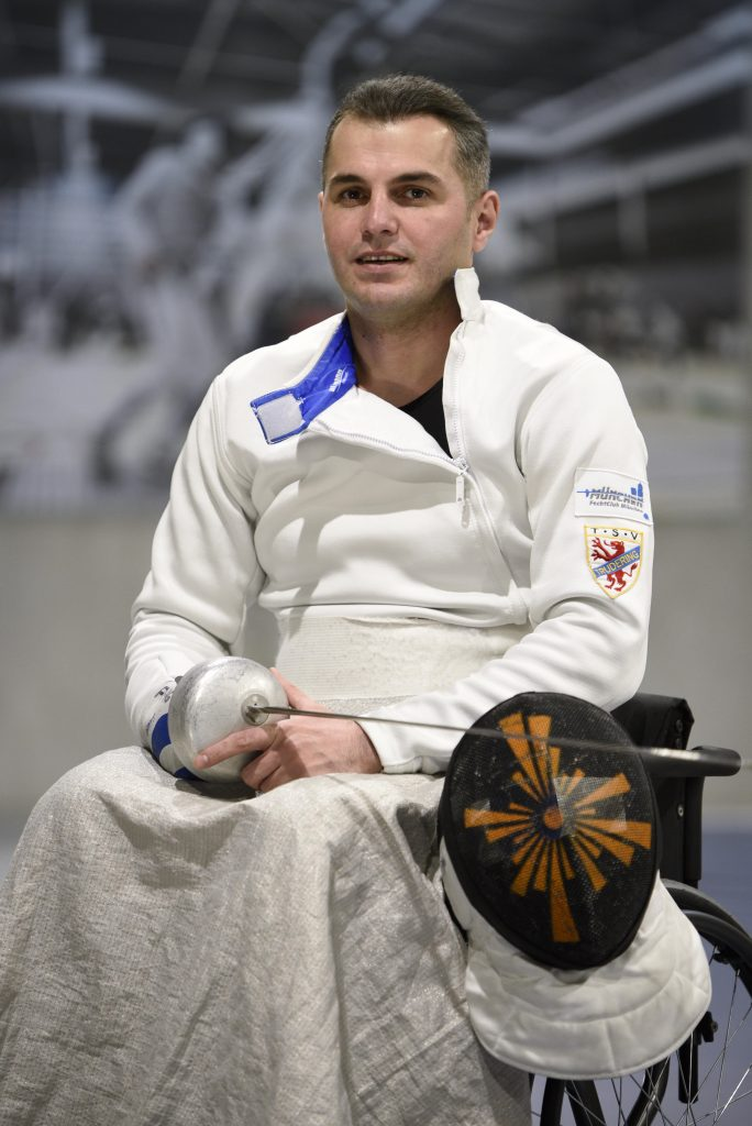 Rollstuhlfechten München