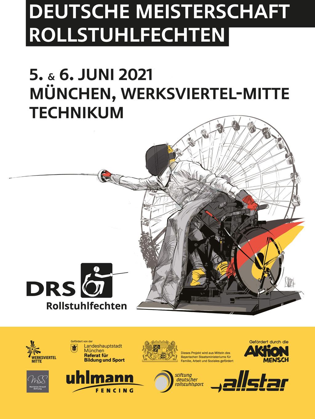 Deutsche Meisterschaften Rollstuhlfechten 2021